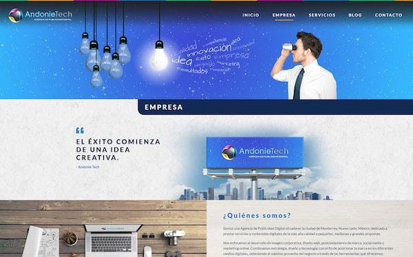 Desarrollo Web - Sitio Web