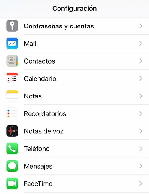 Cómo configurar un correo en un iPhone